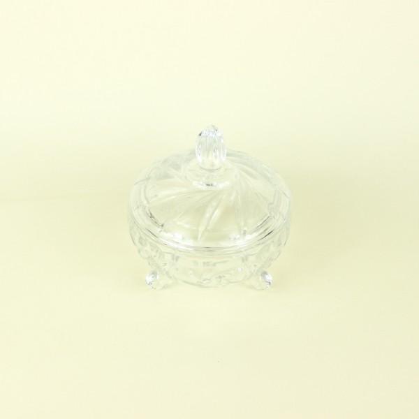 Potiche Decorativa de Cristal Prima