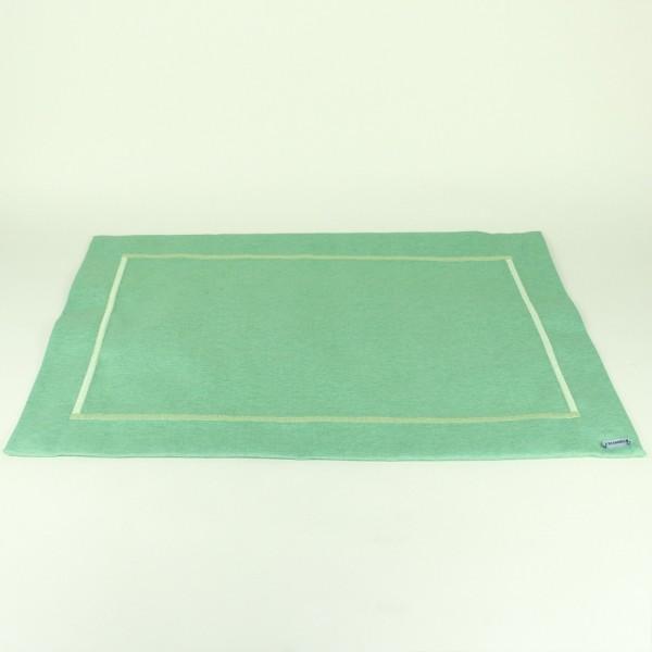 Jogo Americano em Tecido Verona Verde Claro