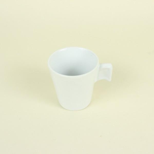 Xícara Cafezinho Cerâmica White 80ml