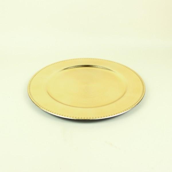 Sousplat Dourado P