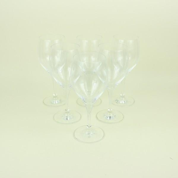 Jogo de 6 Taças de Cristal para Água e Vinho Tinto 420ml