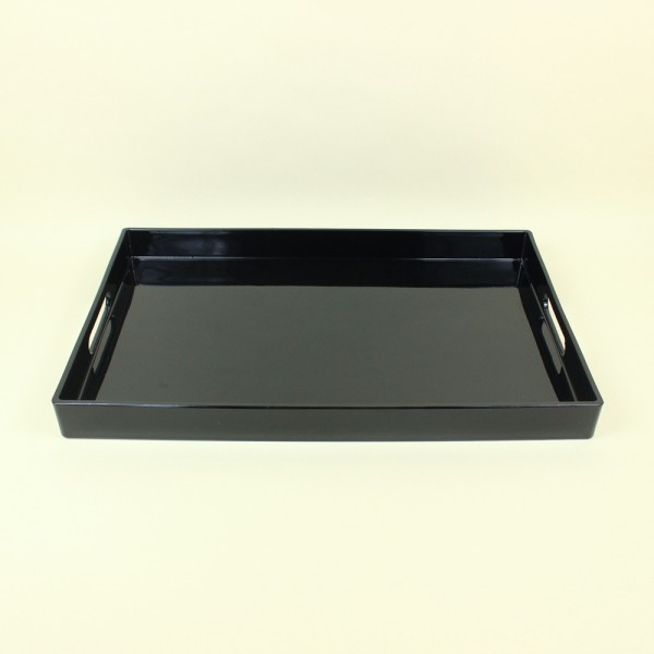 Bandeja Retangular Black 40cm