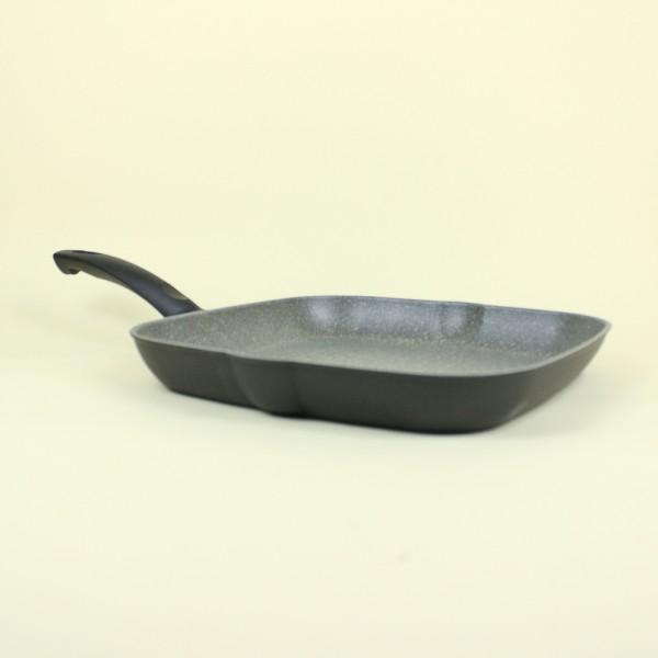 Grill Retangular com Revestimento em Granitium 28cm