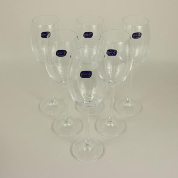 Jogo de 6 Taças para Vinho Branco Maxima Cristal Bohemia
