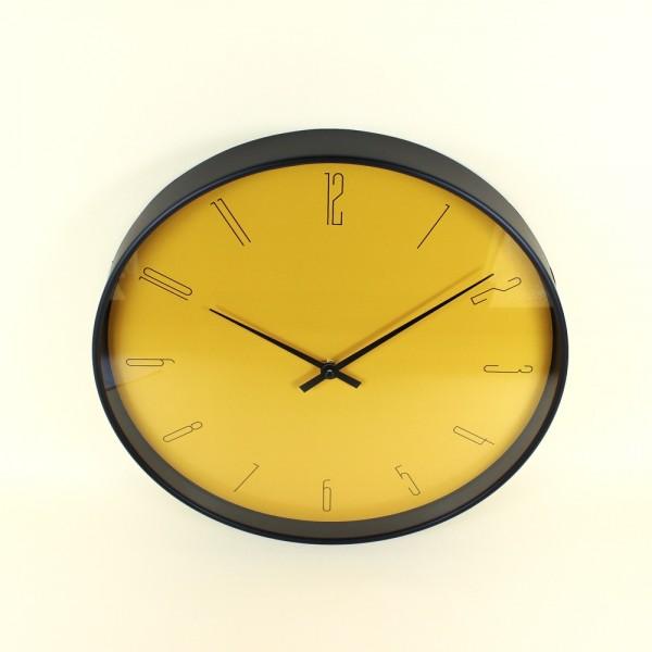 Relógio de Parede Mostarda