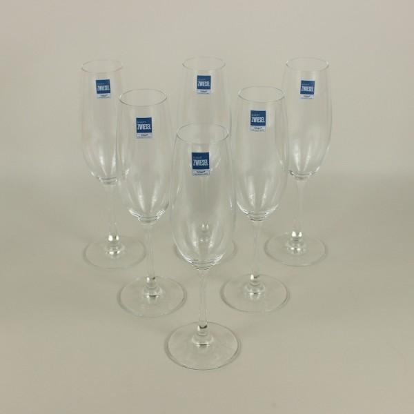 Jogo de 6 Taças de Cristal para Champagne Ivento 228ml Schott