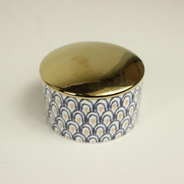 Porta Jóias em Cerâmica Asa de Pavão