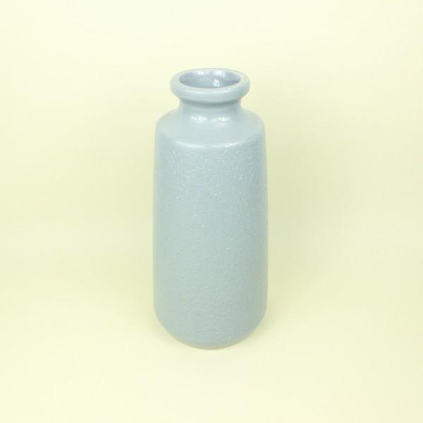 Vaso Cerâmica Cinza Claro P