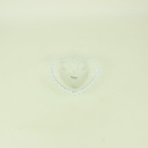 Bowl de Coração de Cristal Pearl