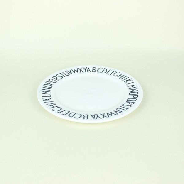 Prato Tea em Cerâmica ABC