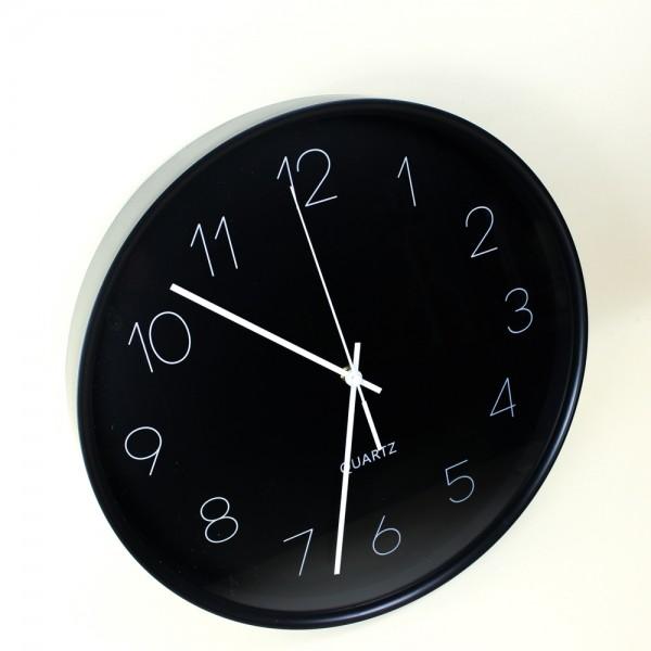 Relógio de Parede Preto