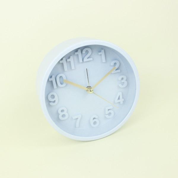 Relógio de Mesa Azul
