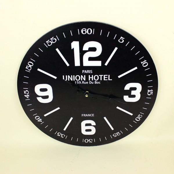 Relógio de Parede Madeira Preto