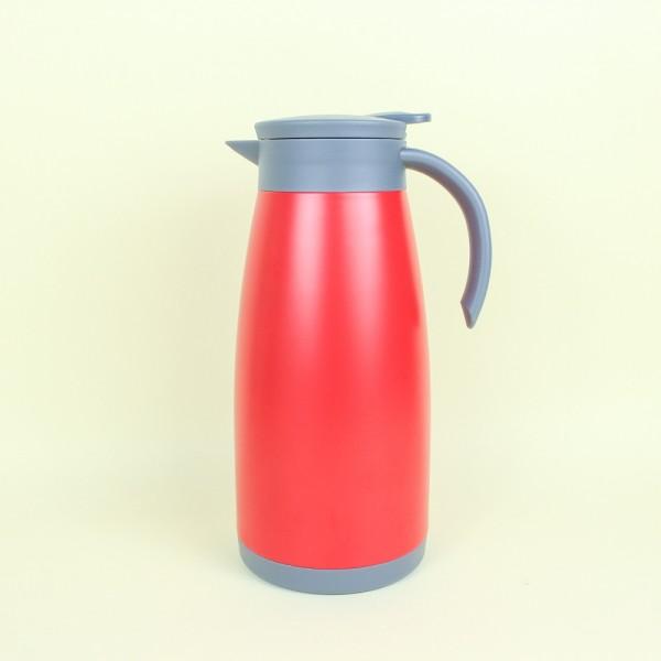 Garrafa Térmica Parede Dupla Inox Vermelha 1,5L