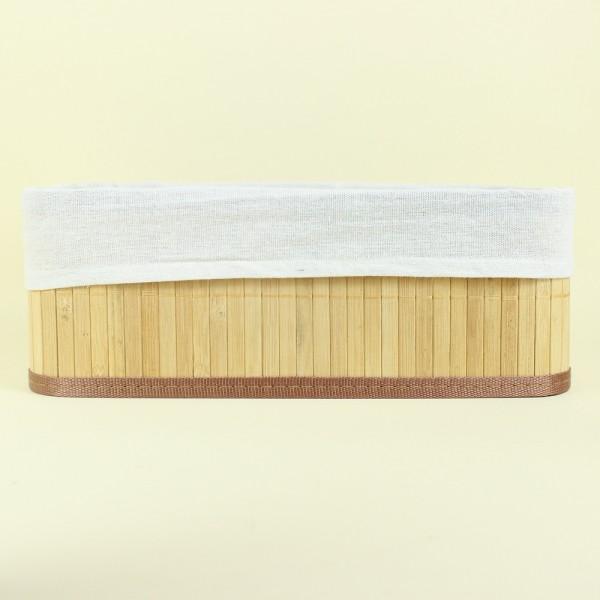 Cesto Orgânico de Bambu Claro Grande G