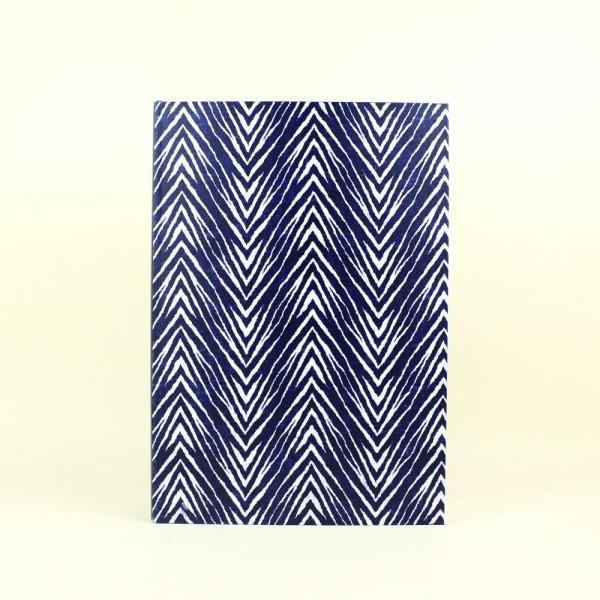 Livro Caixa Azul e Branco Tie Dye M
