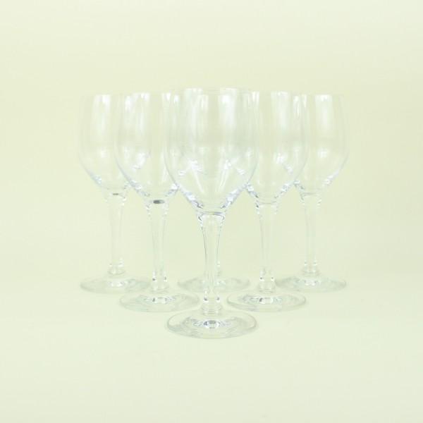Jogo de 6 Taças de Cristal para Vinho Branco 250ml