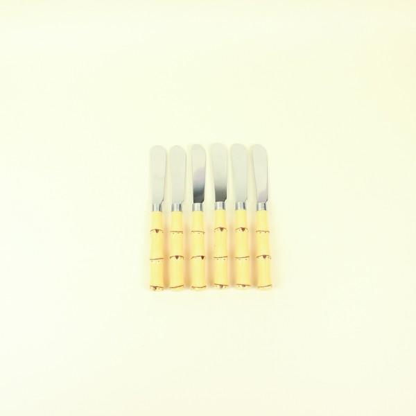 Conjunto de Espatulas 6 peças Bambu Asper