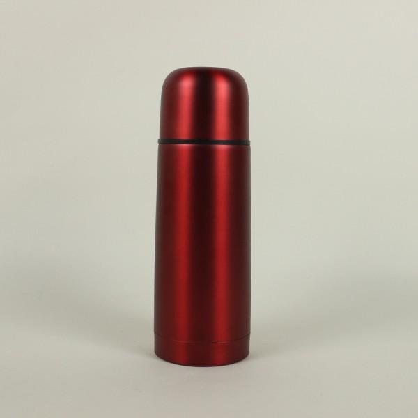 Garrafa Térmica em Aço Inox Vermelho 350ml
