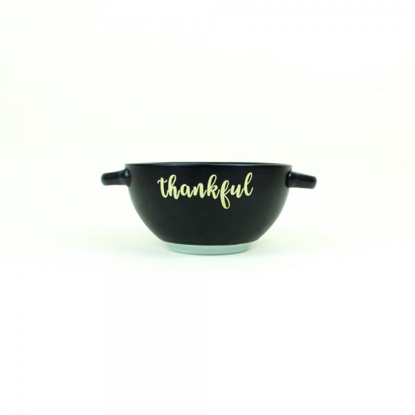 Consumê em Cerâmica Thankful Preto e Azul