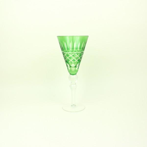 Taça de Cristal para Vinho Verde Lapidada