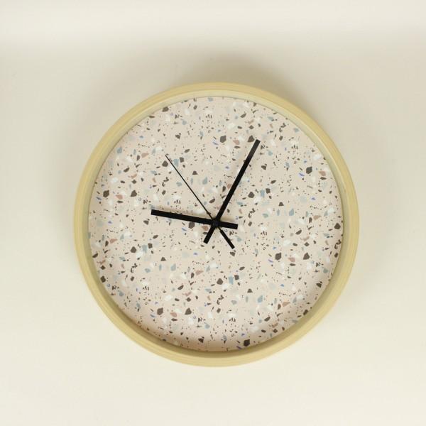 Relógio Parede Rosa Respingos