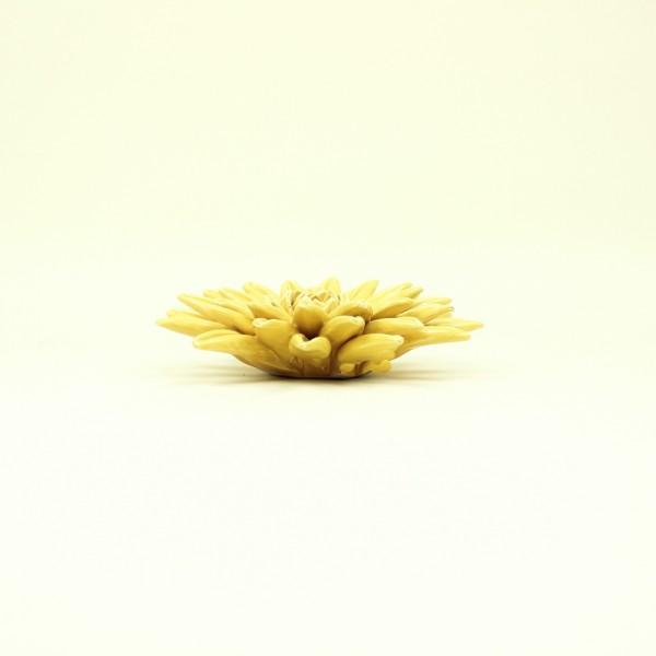 Flor Amarela em Cerâmica