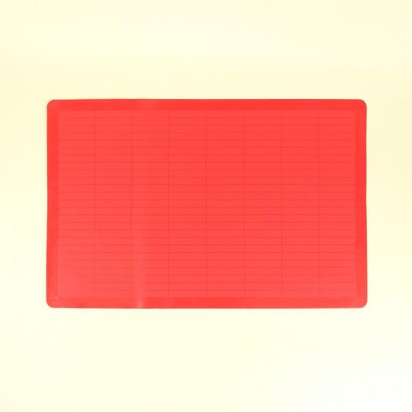 Folha para Assar de Silicone Vermelha