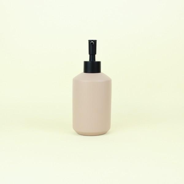 Porta Sabonete Líquido em Cimento Rose