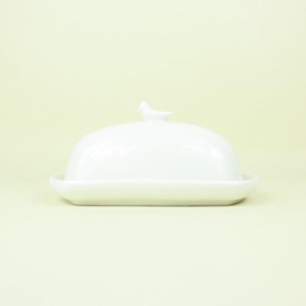 Mantegueira de Porcelana Birds Branca