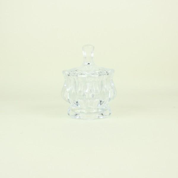 Potiche de Cristal com Pé Pumpkin