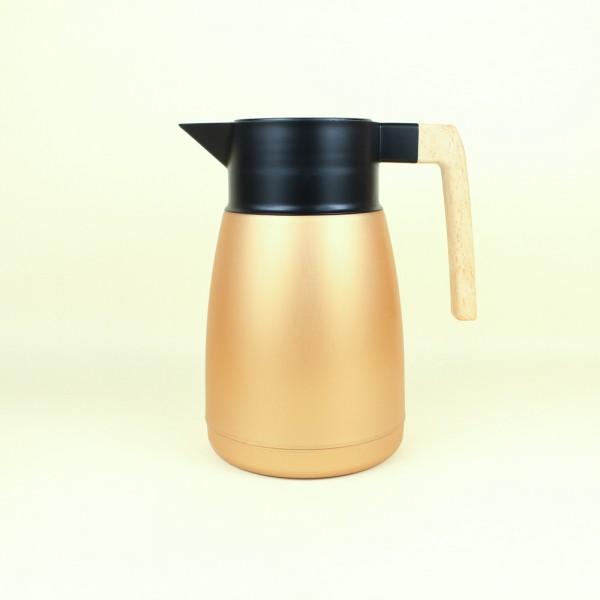 Garrafa Térmica Coffeshop Cobre Metálico 1l